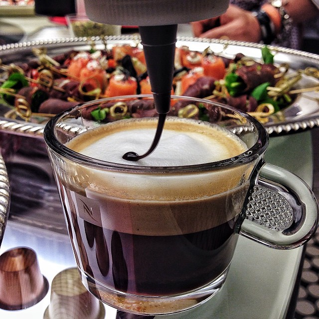 Cup of Nespresso to start your day...