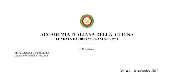 Academia Italiana della cucina