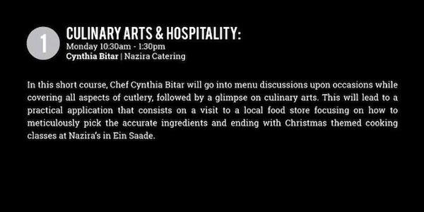 Culinary Arts and Hospitality