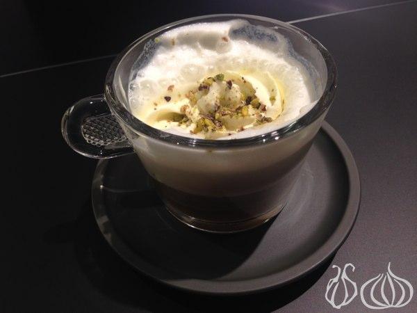 Enjoying an Espresso with Chef Joe Barza
