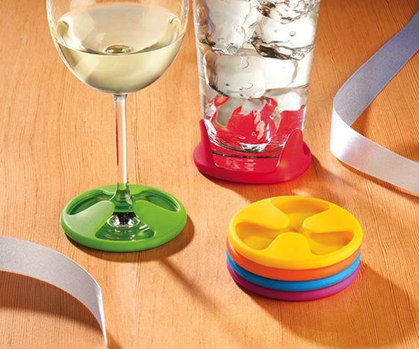 Silicone-Grip-Coaster-Set