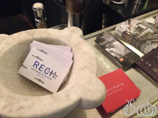 RECH: Alain Ducasse's Approach to Seafood