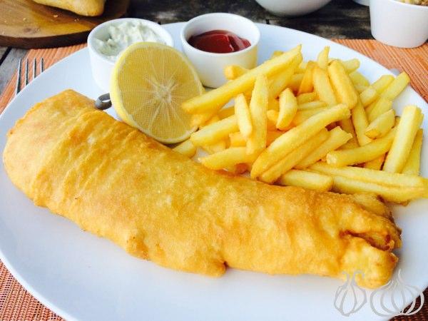 The Gordon's Cafe: Fish & Chips... and Tiramisu