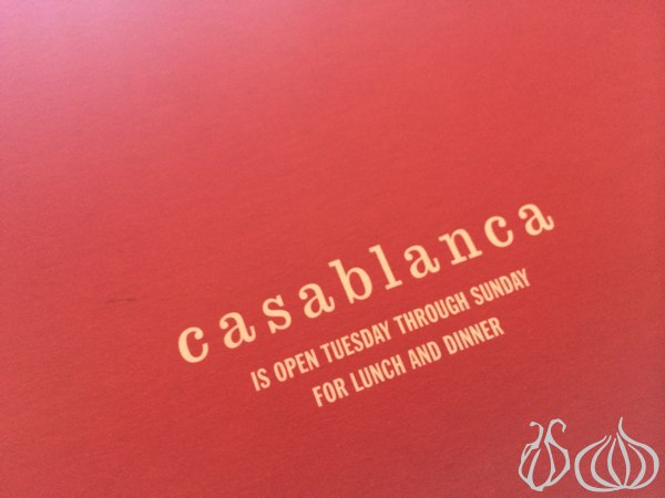 Sunday Brunch at Casablanca: Indulge in Some Heavenly French Toast