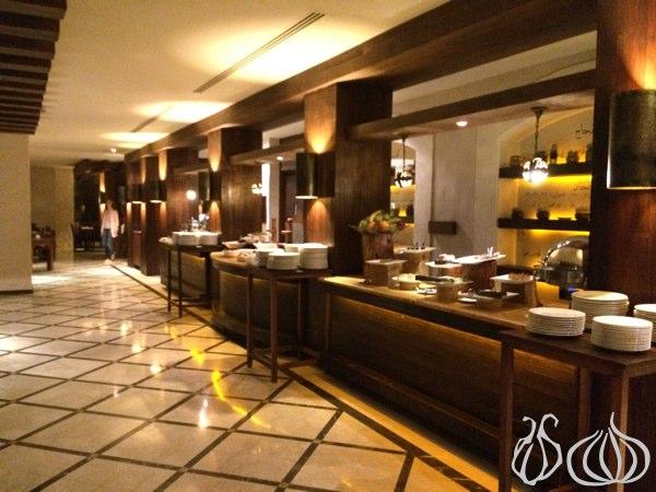 Buffet Dining At Evason Hotel Ma In Hot Springs Jordan