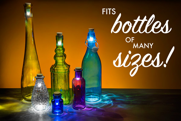 Rechargeable-Bottle-Light