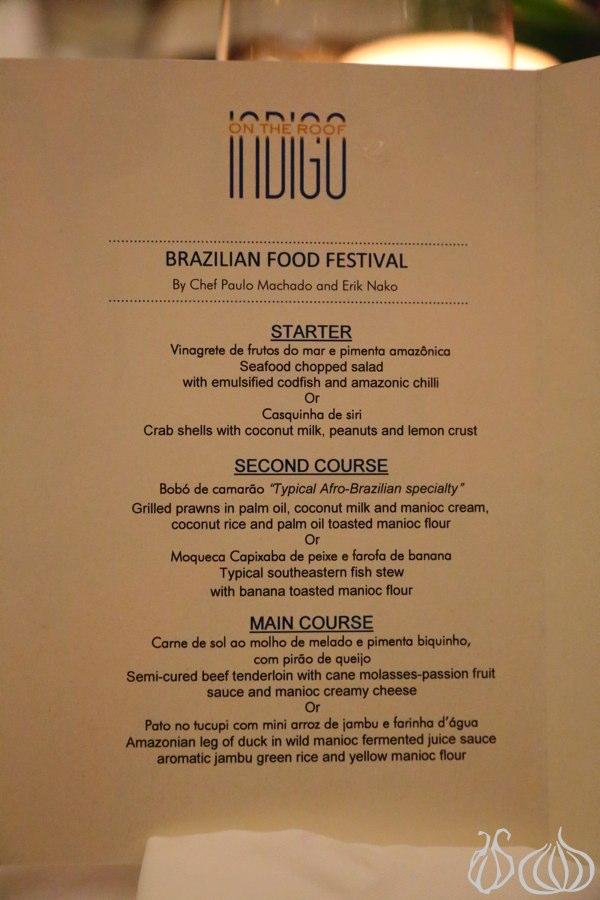 Indigo Street Food Menu